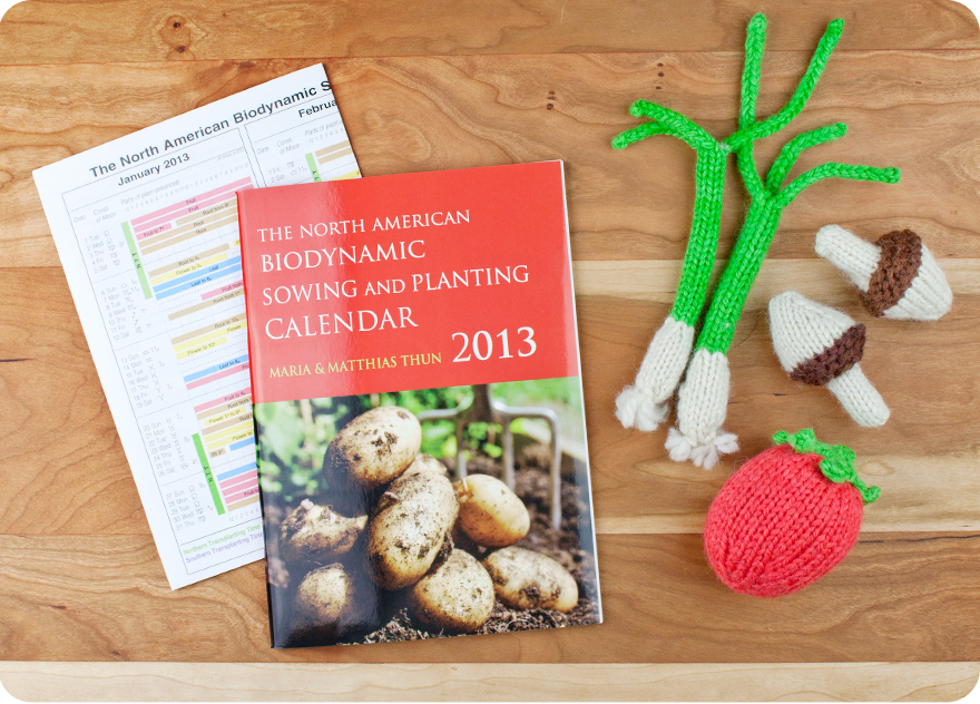 Get your biodynamic sowing and planting calendar and gardening books a-plenty at Palumba, specializing in natural toys, non-toxic home goods, and Steiner books for home and family.
