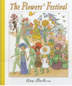 The Flowers Festival, Elsa Beskow children's books at Palumba Natural Toys and Home Goods.