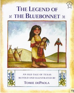 Native American children's books, Tomie DePaola's The Legend of the BlueBonnet, Palumba Natural Toys and Home Goods